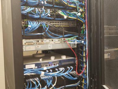 Network Rack Full