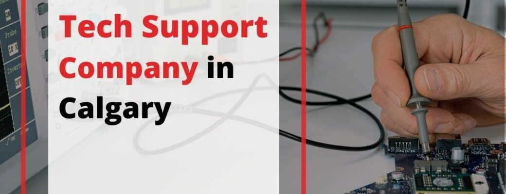 Tech Support Company In Calgary