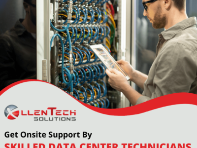 Get Onsite Support By Skilled Data Center Technicians
