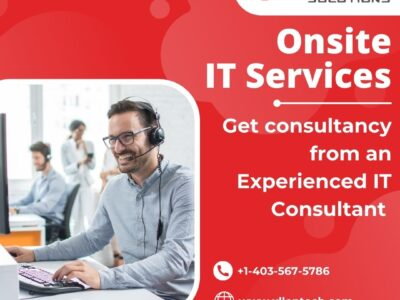 Onsite IT Services Get Consultancy From An Experienced IT Consultant