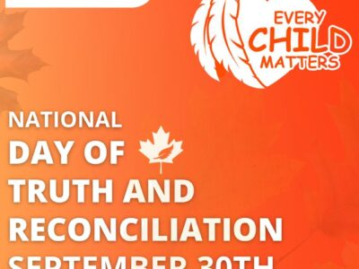 National DAY OF TRUTH AND RECONCILIATION SEPTEMBER 30